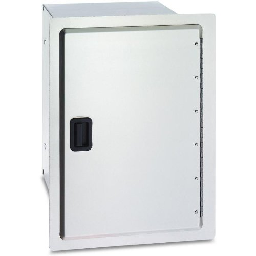 Fire Magic Legacy 14 Inch Stainless Enclosed Cabinet Storage With Drawers