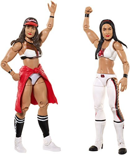 WWE Nikki Bella & Brie Bella Action Figure (2 Pack) (The Bella Twins)
