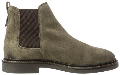 Marc OPolo Herren Flat Heel Chelsea 70824105001304 Boots Braun (Taupe)