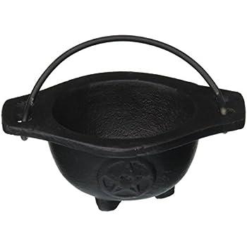 mini cast iron cauldron