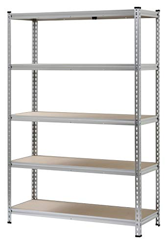 Aluminum Heavy Duty 5-Shelf Shelving ()
