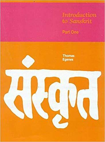 Introduction to Sanskrit, Part 1