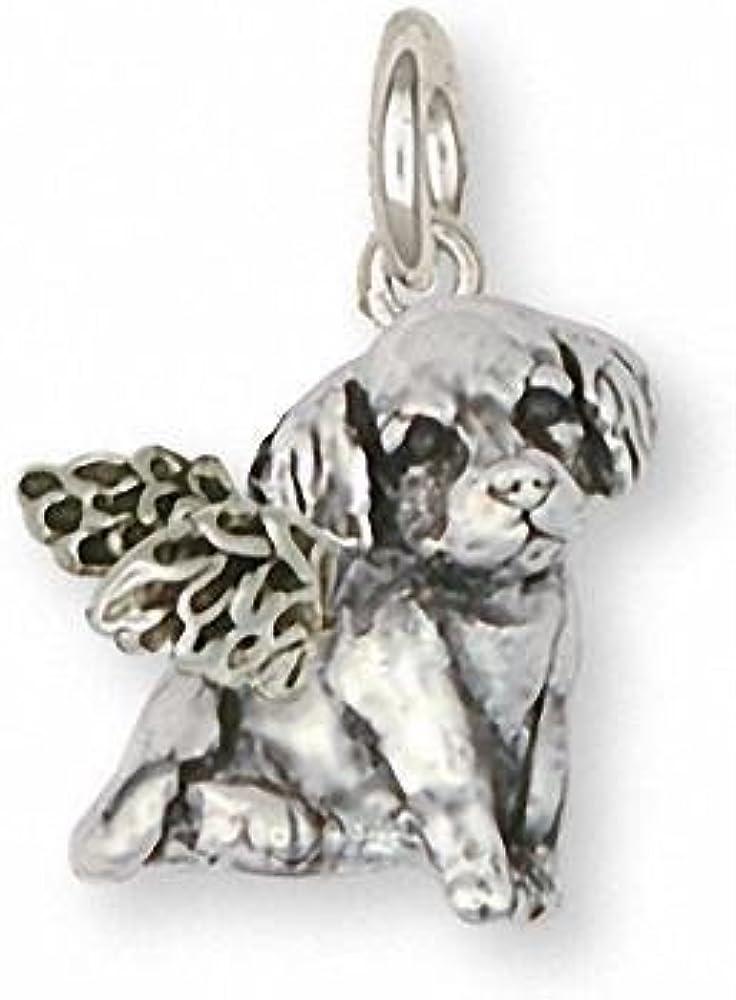 Golden Retriever Charm Bracelet Jewelry Sterling Silver Handmade Dog Charm Brace