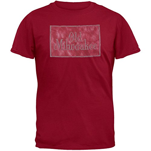 old-milwaukee-mens-logo-t-shirt-2x-large-maroon