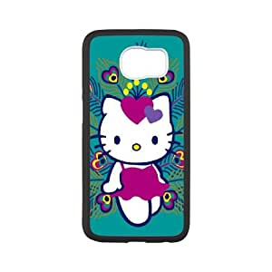 Samsung Galaxy S6 Cell Phone Case White Hello Kitty I8249412