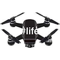 Skin For DJI Spark Mini – Life | MightySkins Protective, Durable, and Unique Vinyl Decal wrap cover | Easy To Apply, Remove, and Change Styles | Made in the USA