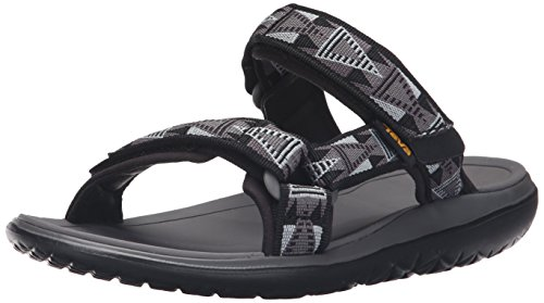 Teva Men's Terra - Float Slide Sports and Outdoor Lifestyle Sandal Black (Mosaic Black/Dusk- Mbds)
