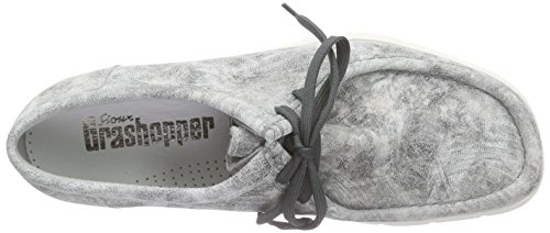 SiouxGrashopper-H-141 Velour Crepesohle - Mocasines Hombre Gris - Grau (grey-shadow)