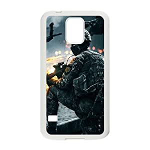 Samsung Galaxy S5 Cell Phone Case White Battlefield 4 Soldier LSO7875886