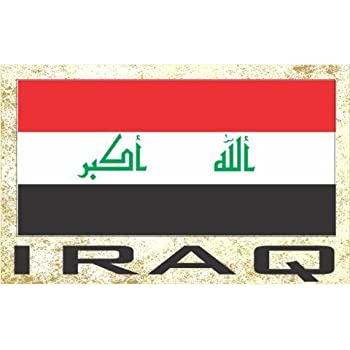 Flag Fridge Refrigerator Magnets - Asia & Africa Grp 2 (1-Pack, Country: Iraq)