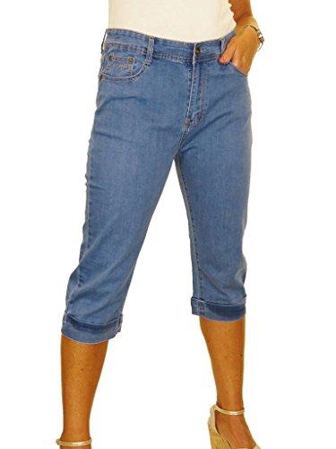 en retrouss Revers Capri 42 Jean Dlav Jeans 52 Stretch icecoolfashion lav Bleu qfxHwOZwt