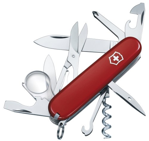 couteau suisse rouge