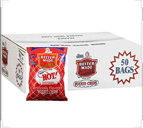 Better Made Special Red Hot Barbeque Potato Chips -50/1oz