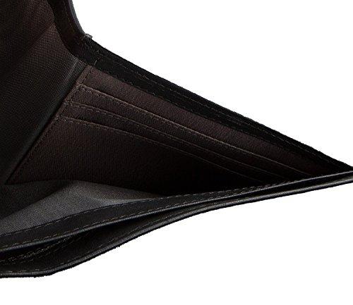 bugatti Pregio monedero piel 12 cm negro