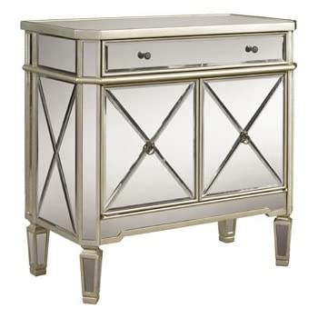 mirrored mirror furniture dresser buffet cabinet chest nightstand table bedroom. Black Bedroom Furniture Sets. Home Design Ideas