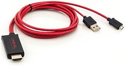 Saxonia - MHL a HDMI cable adaptador para smartphones Samsung ...