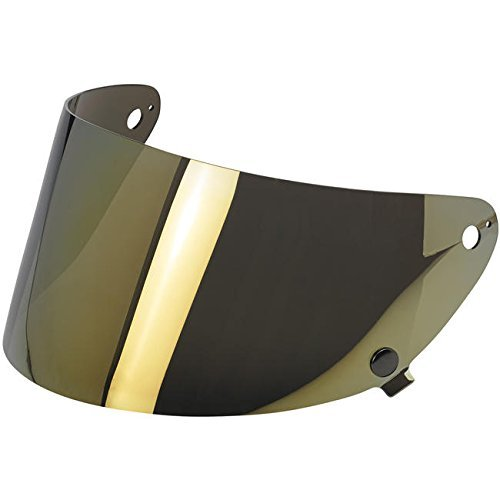 Biltwell Gringo S Helmet Flat Shield - Gold - Shield S