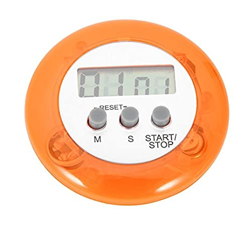 Mini Digital Timer for Home Kitchen,Baynne Round LCD Display Digital Cooking Home Kitchen Countdown Timer Count Down Up Alarm