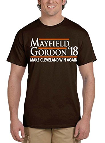 """WB SHIRTS Brown Cleveland Mayfield 18"""" T-Shirt Adult"""