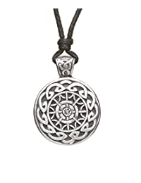 Celtic Knot Necklace Eternity Knot Pewter