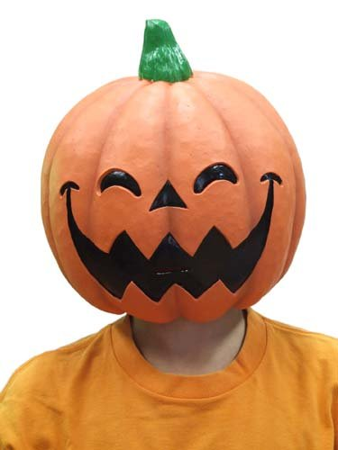 N rubber mask M2 smiling pumpkin (japan import) -