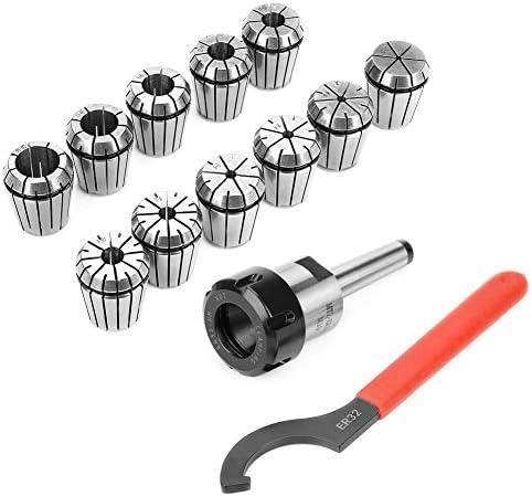 Spring Collets Set, Precision Fine Workmanship CNC Engraving Machine Collet, for Milling Machine CNC Milling Lathe Tool