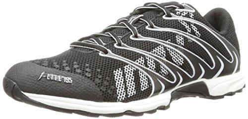 Inov-8 Men's F-Lite 195 (P) Running Shoe,Black/White,12 M US/13.5 M US Women's