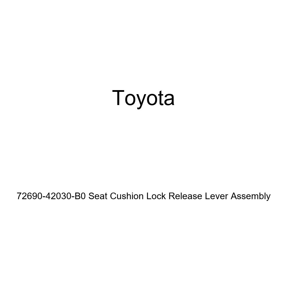 TOYOTA Genuine 72690-42030-B0 Seat Cushion Lock Release Lever Assembly