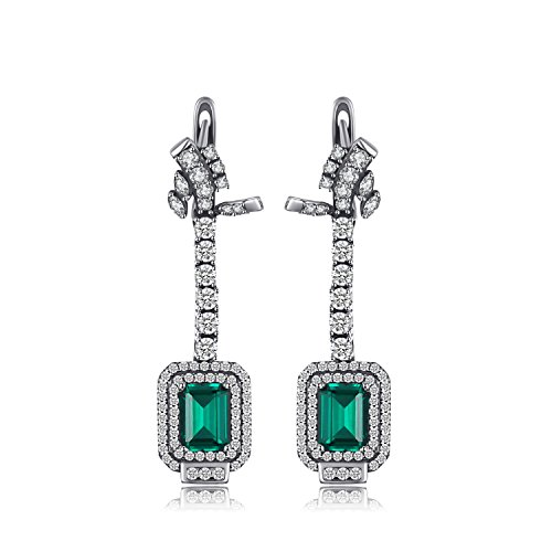 Tiffany Emerald Earrings - 9
