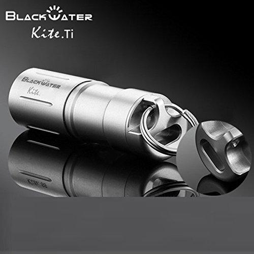 Pegasus Schwarz Wasser Kite.Ti Titanium XP-G2 USB Recharger Mini LED Taschenlampe