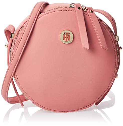 Tommy Hilfiger - Modern Hardware Round Crossover, Bolsos totes Mujer, Rosa (Rosette), 1x1x1 cm (W x H L)