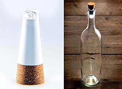 Xcellent Global Color Changing LED Wine Bottle Light Cork Shaped Rechargeable USB Powered LED Lights for Party Christmas LD069