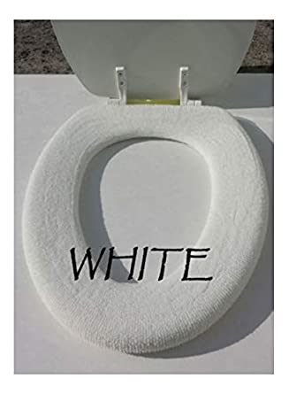 Toilet Seat Warmer Cover.Bathroom Toilet Seat Warmer Cover Washable White Lifelong Needs