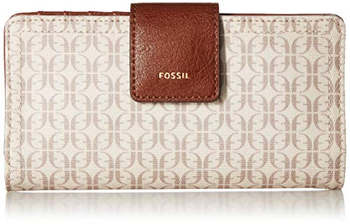 Fossil Purses Wallets - Fossil Logan RFID Tab Wallet, taupe/tan