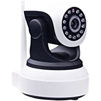 ANBAHOME 720P IP Wireless Wifi Camera Plug/Play Pan/Tilt 2-Way Audio Night Vision Home Surveillance Security Alarm System