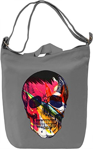 Beauty Of Skull Borsa Giornaliera Canvas Canvas Day Bag| 100% Premium Cotton Canvas| DTG Printing|