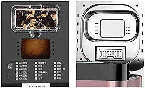 Bdesign Accueil breadmaker Machine à Pain Automatique, avec 18 programmes automatiques programmables, 13 Heures de Retard minuterie, W/Fruit Automatique et Noix Distributeur