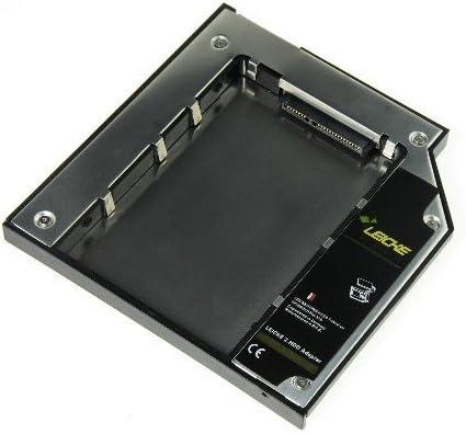 LEICKE – Adaptador de Disco Duro SATA/Dual SATA 2. HDD/SSD para ...