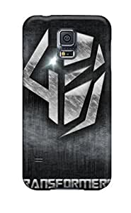 DaMMeke PIpYjpX5306HZowu Protective Case For Galaxy S5(transformers 4 Logo)