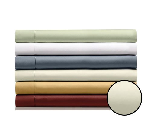TEMPUR-Pima Cotton Egg Shell Sheet Set, Queen