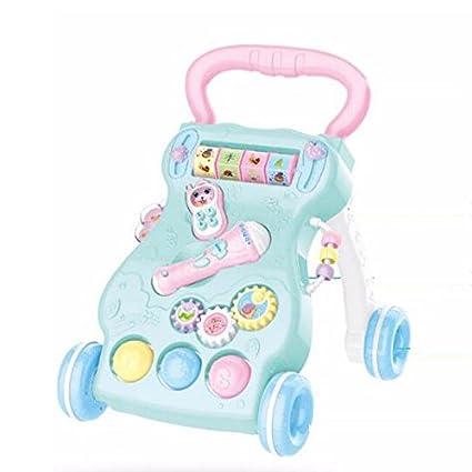 0-2 Años De Edad Bebé Walker Trolley Niño Multifuncional con ...