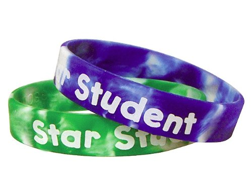 Teacher Created Resources Fancy Star Student Wristbands (6572)