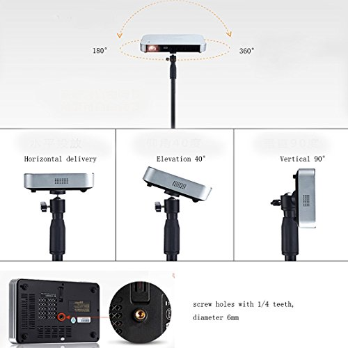 Auledio Portable Projector Stand Lightweight Projector