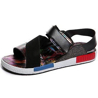 Free Style Unisex Casual sandalias planas zapatos de tacón Verano Sandbeach Slip-on de alta calidad Zapatos Zapatos de Vestir para /Outdoor-Casual Rose Pink