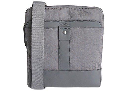 Calvin Klein - Bolso al hombro de Material Sintético para hombre Gris gris
