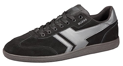 Boras 3541 Mens Sneakers schwarz/grau