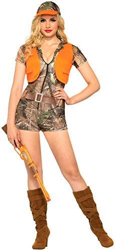 Forum Novelties Women's Foxy Hunter Costume, Brown/Orange, Medium/Large]()