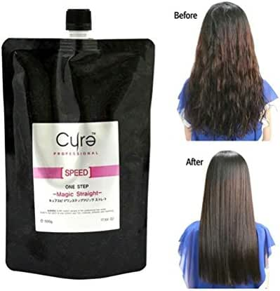 Cure One Step Japanese Magic Hair Straightening Treatment Straight Cream by AURORA
