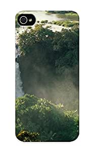 Green Leaves Appearance Snap-ongreen Leaves Case Designed For Iphone 5/5s- Blue Nile Falls Ethiopia(best Gifts For Lovers)