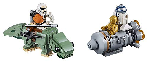 اسعار LEGO Star Wars: A New Hope Escape Pod vs. Dewback Microfighters 75228 Building Kit , New 2019 (177 Pieces)
